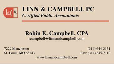 Linn & Campbell PC business card