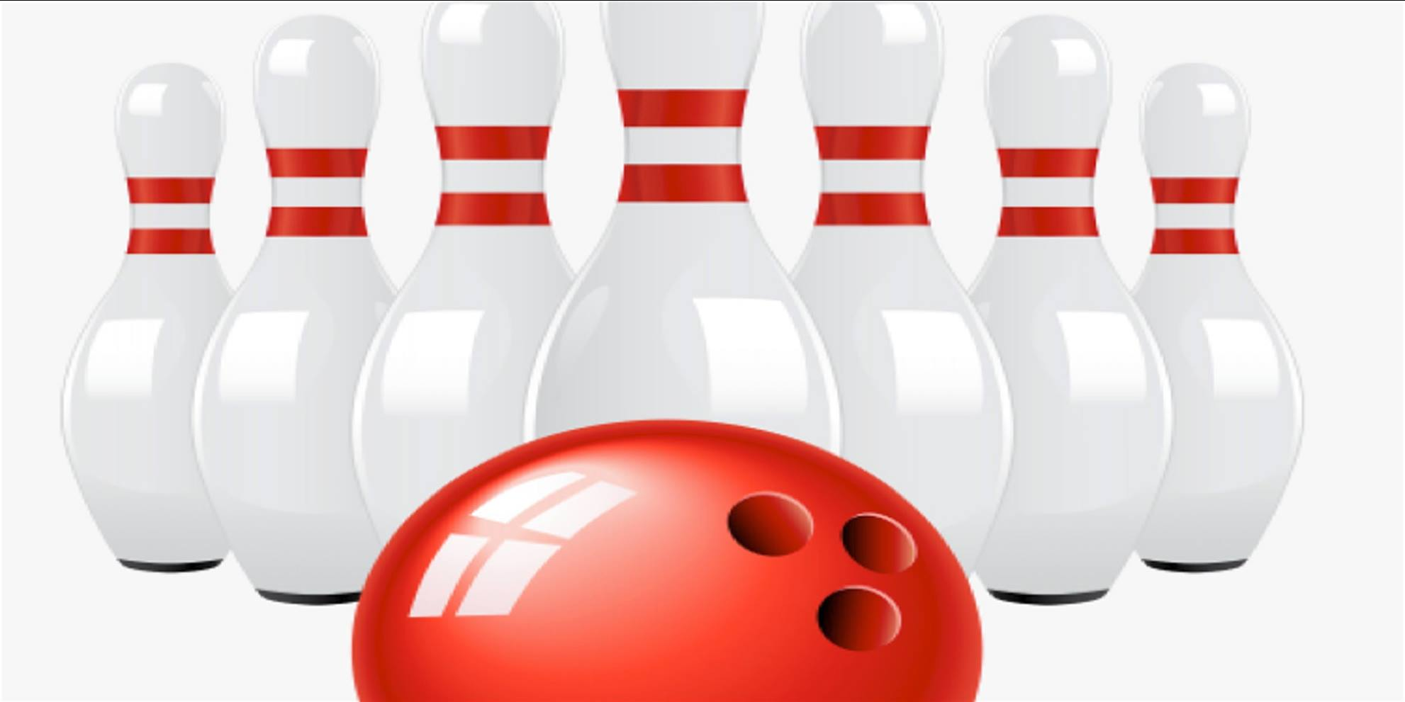 bowling ball, pins
