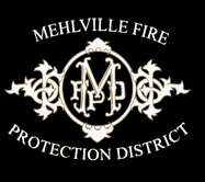 Mehlville Fire Department black logo