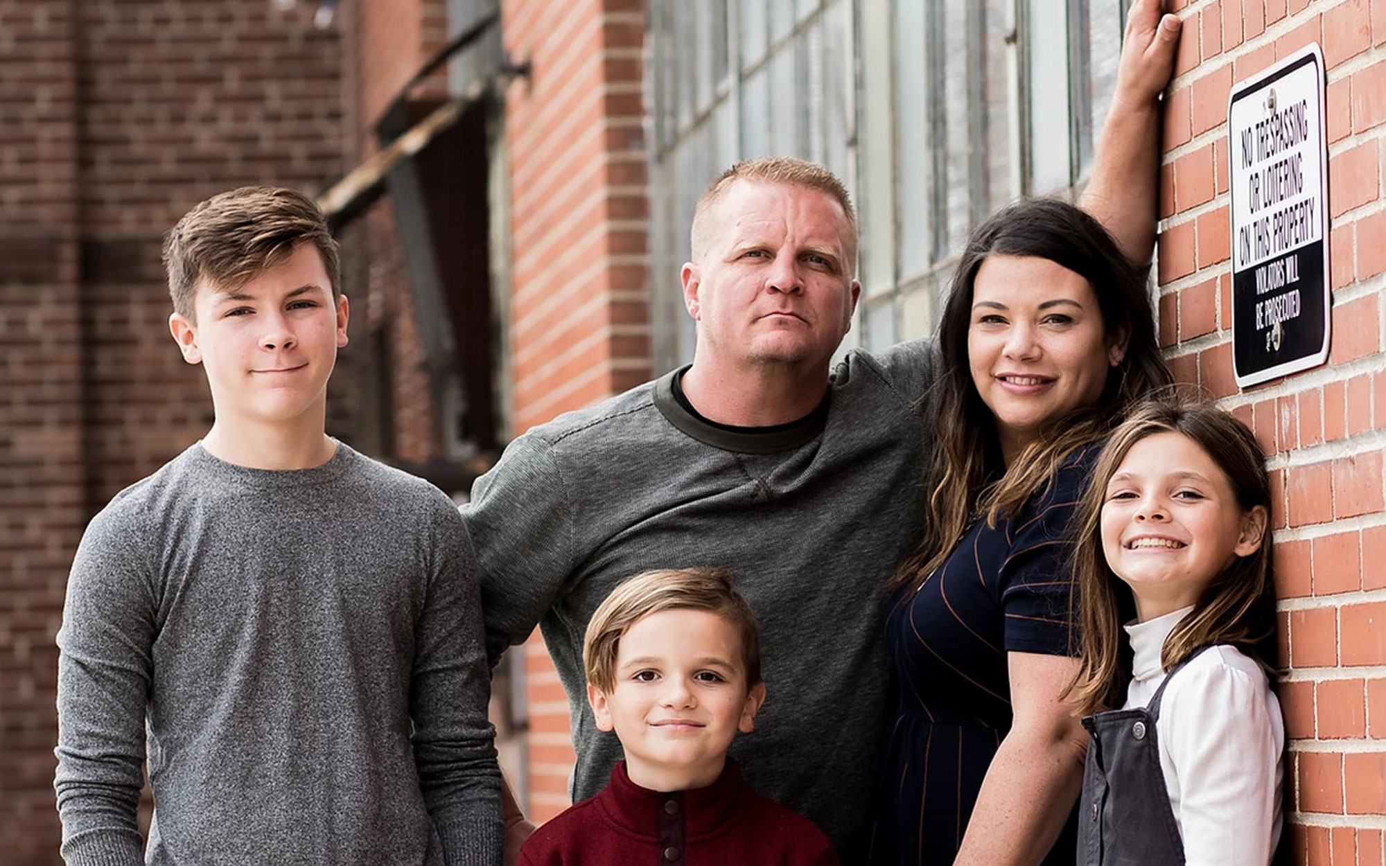 Law N' Order owner's family photo