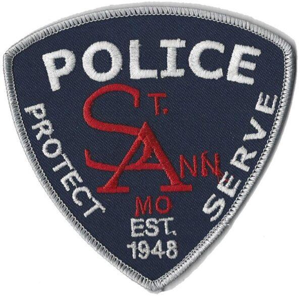 St. Ann Missouri Police Department Badge